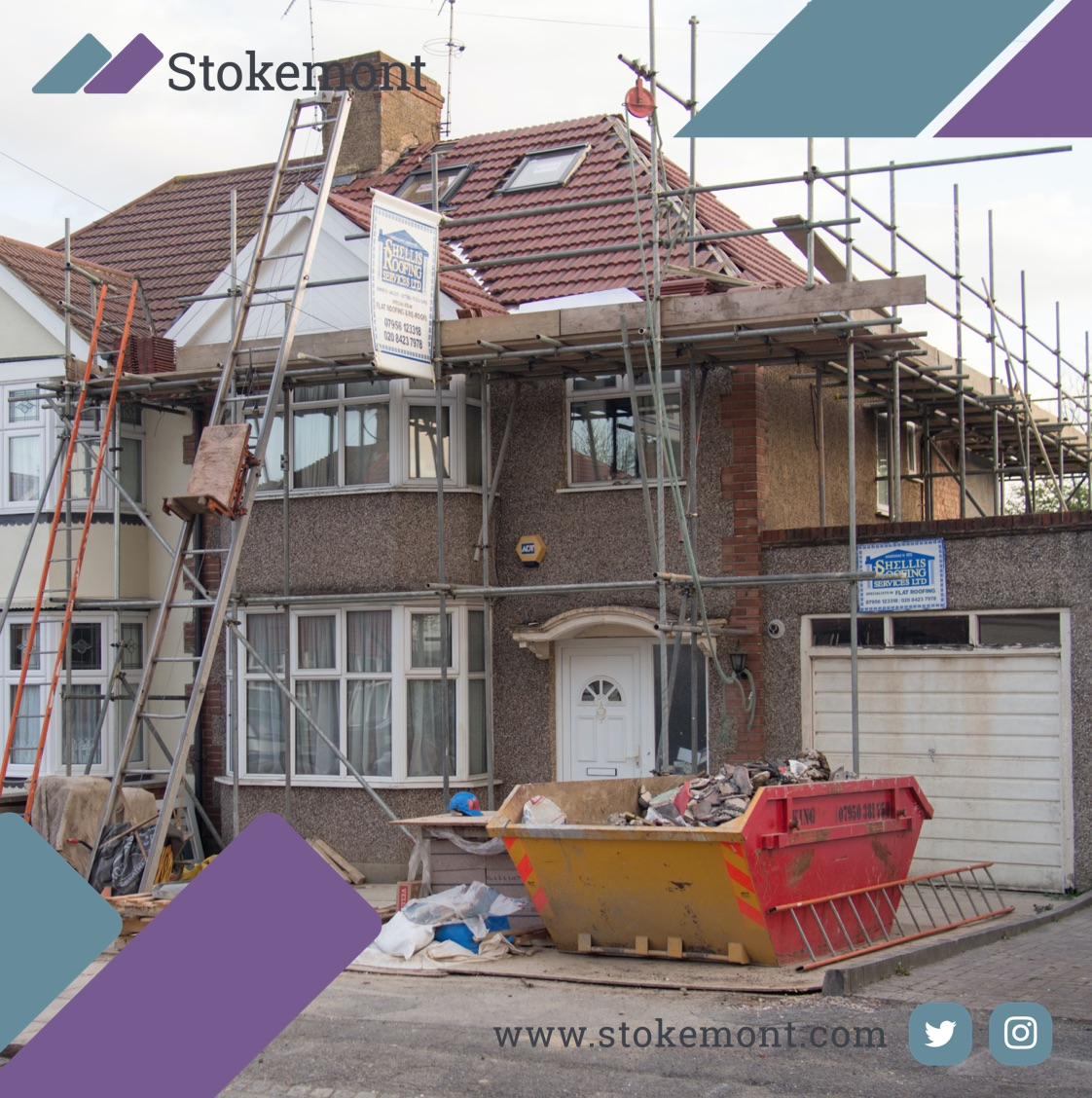 #loft #conversions are one of the most #common forms of #partywall #construction #works that we see here at #Stokemont. Get in touch with us #today to #discuss. copy
