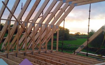 Raising a Party Wall in Timber